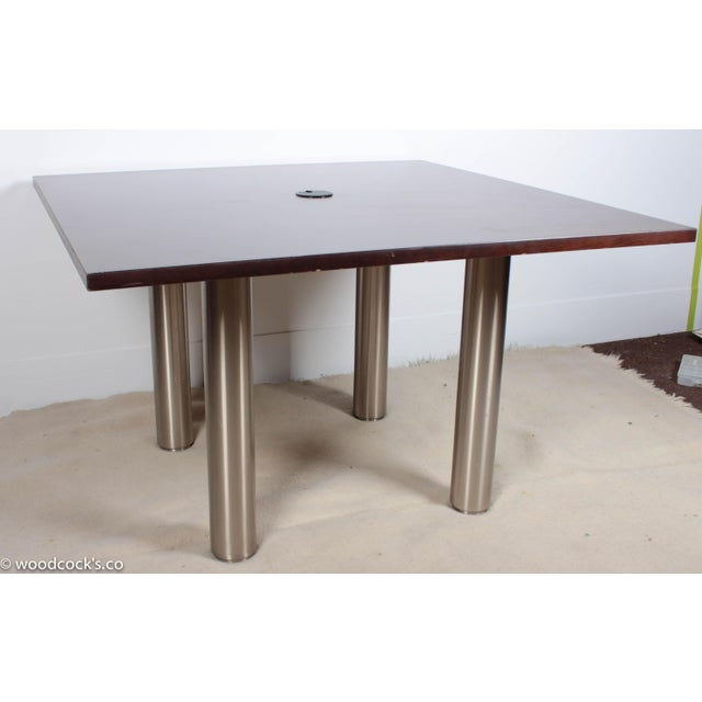 Knoll Reff Square 4ft Office Conference Table - Image 4 of 6
