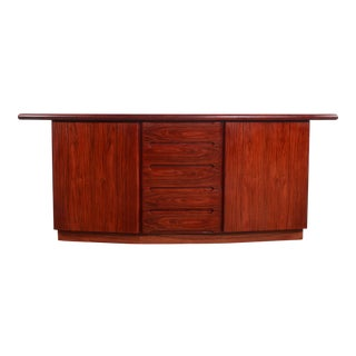 Mid Century Danish Modern Skovby Rosewood Credenza / Sideboard For Sale