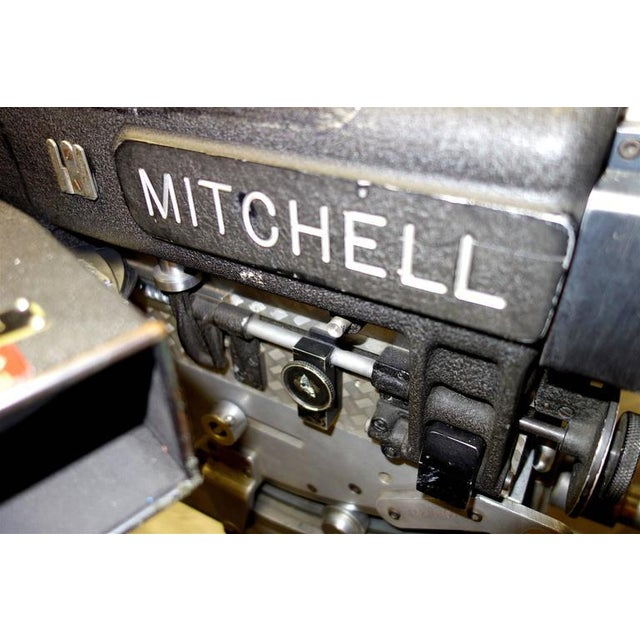 Rare Mitchell 35mm Antique Feature Cinema Camera Package As Sculpture For Sale - Image 9 of 10