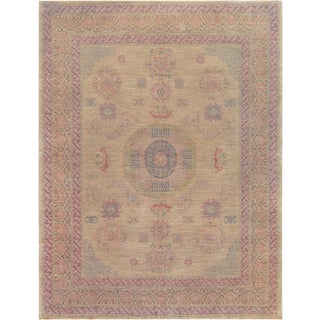 "Mansour Quality Handwoven Khotan Rug - 6'7"" X 8'4"" For Sale"