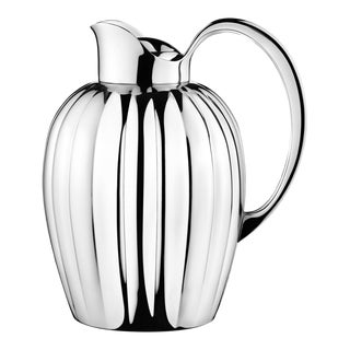 Georg Jensen Art Deco Stainless Steel Bernadotte Thermo Jug For Sale
