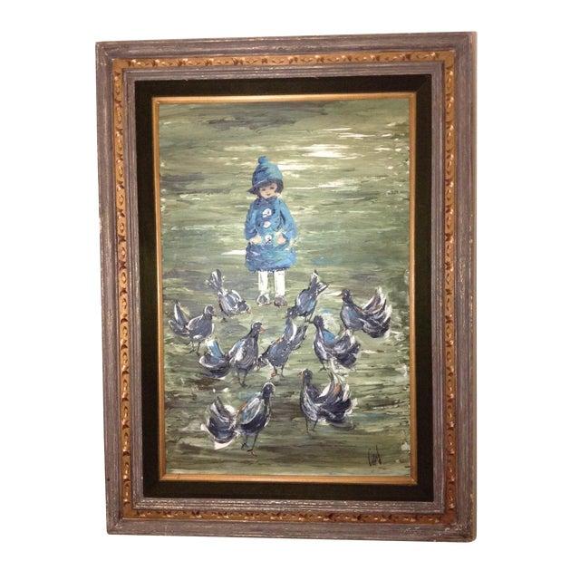 Estacien J. Benjamin Hillside Original Painting - Image 1 of 8