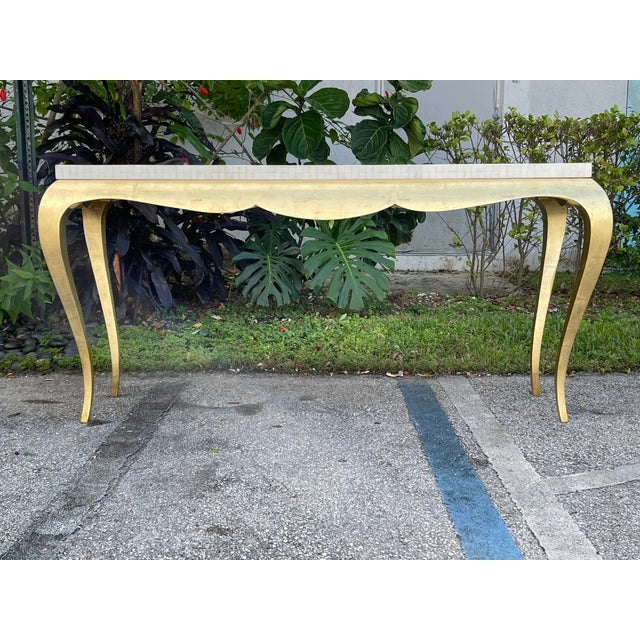 Tessellated and Horn Console For Sale - Image 10 of 10