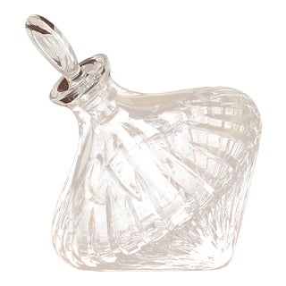Crystal Bourbon/Whiskey Decanter For Sale