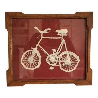 Antique Crocheted Bicycle From England