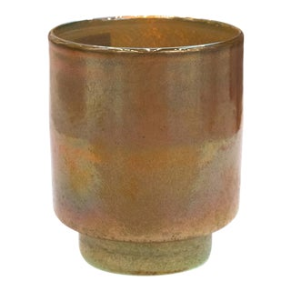Curated Kravet Petal Candleholder, Small For Sale