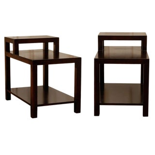 Pair of Step Tables by T. H. Robsjohn--Gibbings for Widdicomb For Sale