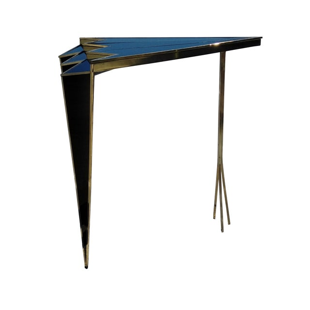 Bronze Susan Side Table by MarGian Studio For Sale - Image 7 of 8