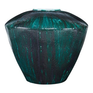 Curated Kravet Moshier Vase - Peacock For Sale