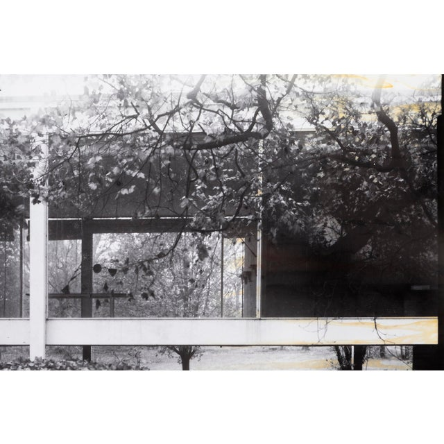 """Late 20th Century """"Farnsworth House Early Decline #2"""" Photograph by Jim Zanzi For Sale - Image 5 of 6"""
