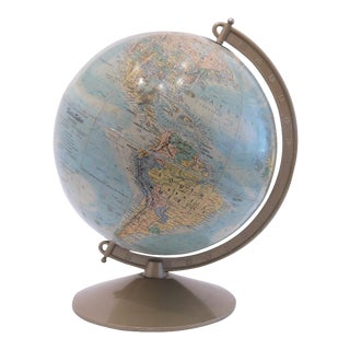 Vintage World Motion Globe For Sale