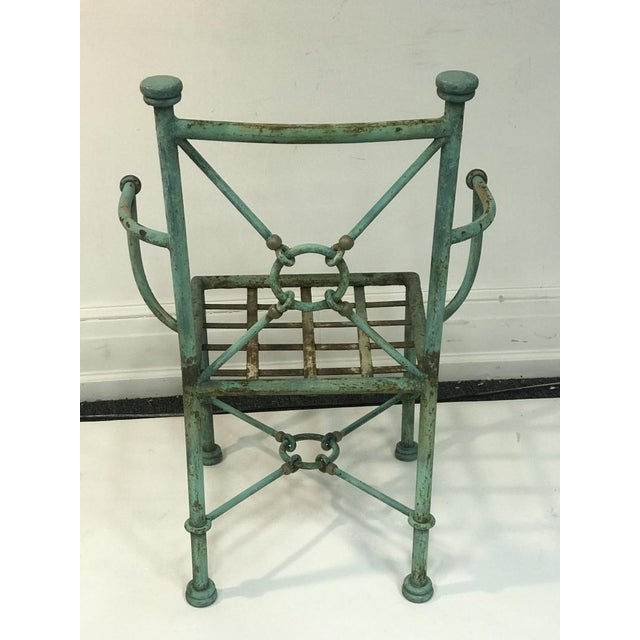 Metal Giacometti Style Chairs - Set of 6 For Sale - Image 7 of 10