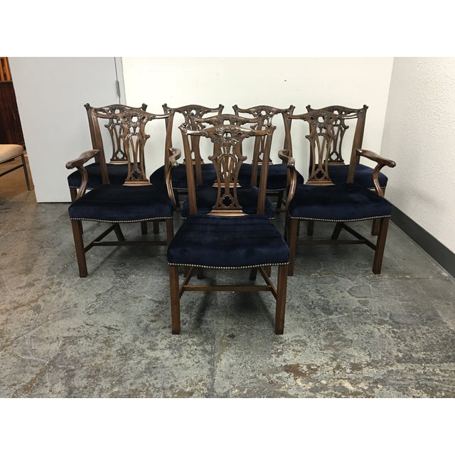 Chippendale Style Chairs - Set of 8 - Image 2 of 11