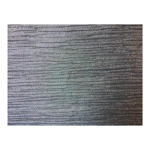 Kravet-Candice Olson Metallic Pleated Fabric 2-1/2 Yds. For Sale