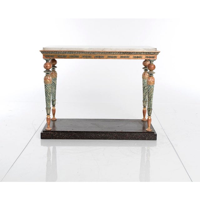 Early 19th Century Late-Gustavian Console Table For Sale - Image 5 of 5