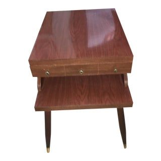 1950's Mid-Century Modern End Table