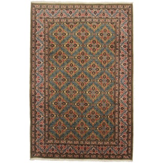 "Asian Style Persian Area Rug - 6'1"" x 10' For Sale"