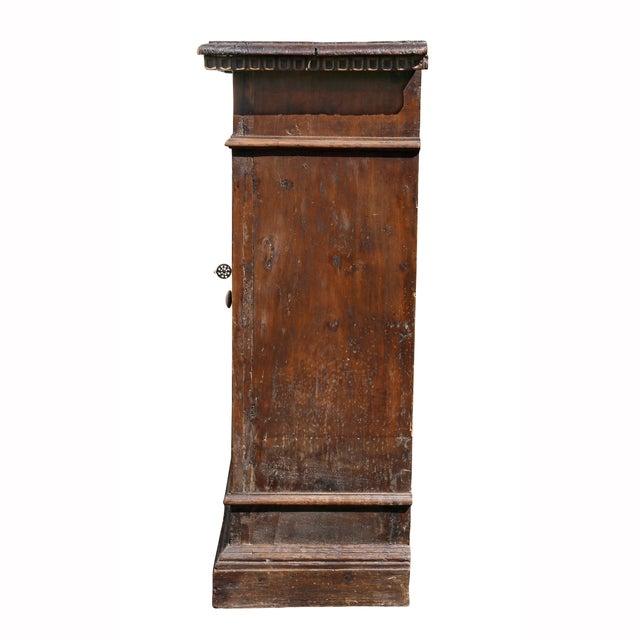 Italian Baroque Walnut Cabinet For Sale - Image 11 of 13
