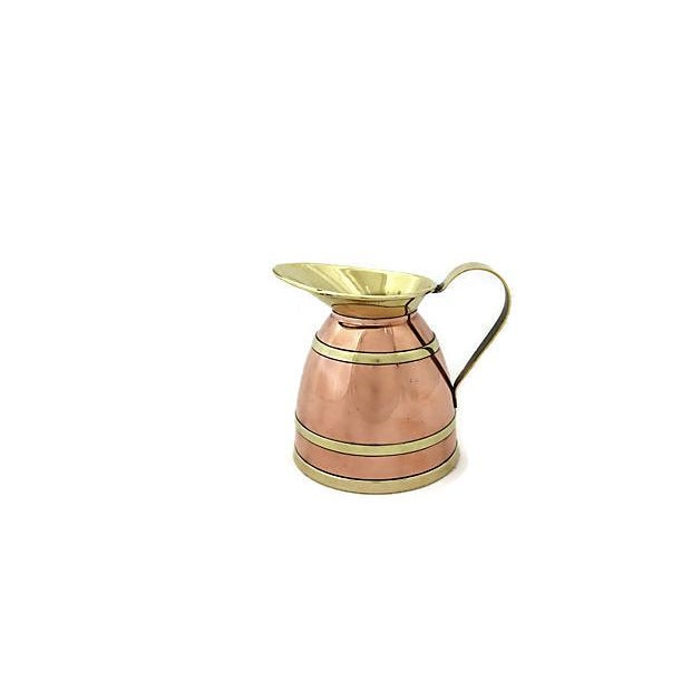 English Copper Banded Jug For Sale In Los Angeles - Image 6 of 7