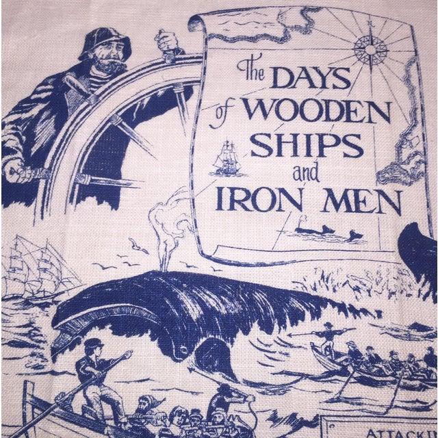 Wooden Ships & Iron Men Tea Towel - Image 4 of 6