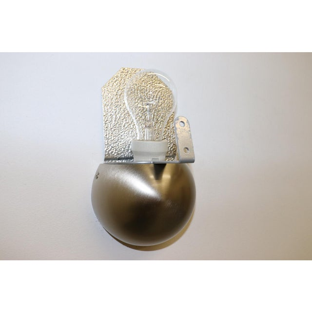 Mid-Century Modern Murano Green Glass Wall Lamp For Sale - Image 12 of 12