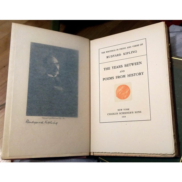 Rudyard Kipling Writings in Prose & Verse - S/28 For Sale - Image 7 of 10