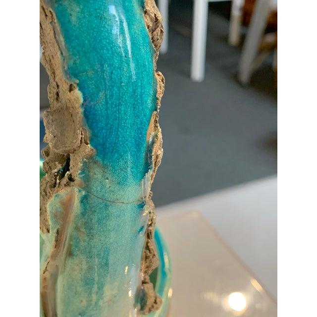 "Vintage Mid-Century Mizu-Baketsu"" Ceramic Well Bucket / Water Paul Vessel Sculpture For Sale - Image 9 of 13"
