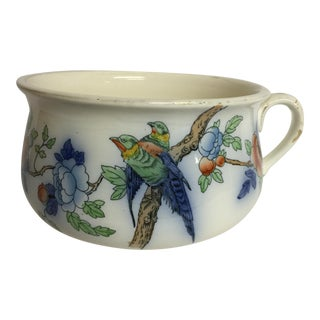 English Devonware Porcelain Chamber Pot For Sale