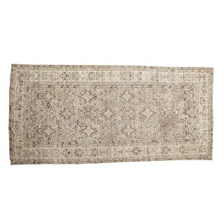 "Vintage Hamadan Rug Runner - 4'10"" X 9'10"" For Sale"