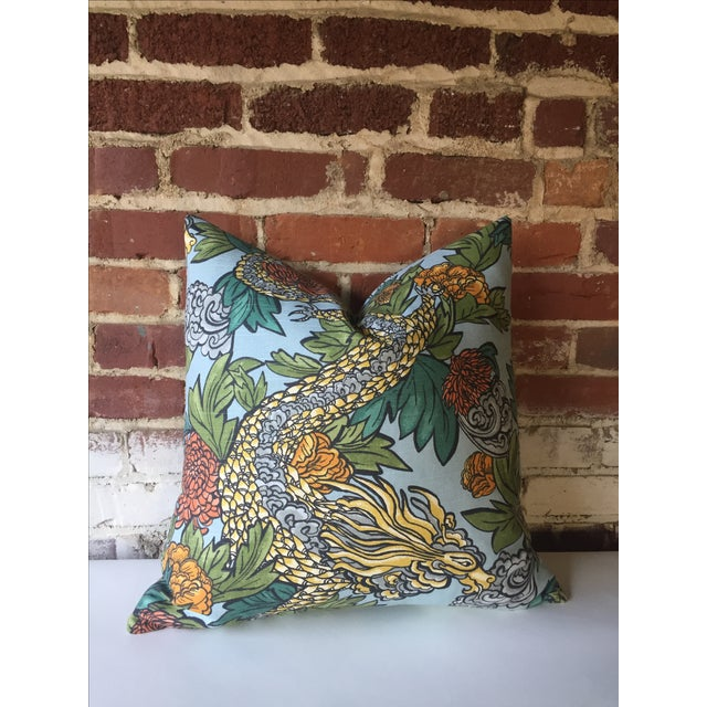 Ming Dragon Pillow Cover - Image 2 of 4
