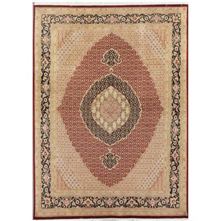 "Pasargad Tabriz Collection Rug - 8' X 10'8"" For Sale"