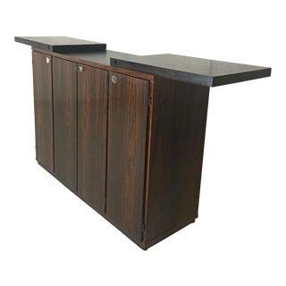 Danish Modern Rosewood Dry Bar by Dyrlund