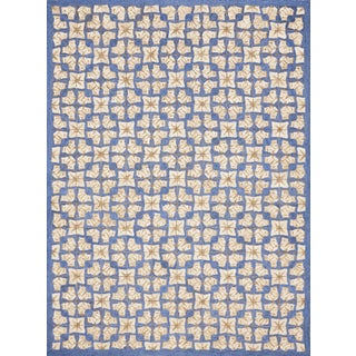 Schumacher Patterson Flynn Martin Sintra Hand-Coiled Abaca Geometric Rug - 9' X 12' For Sale