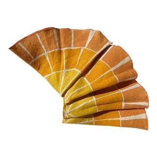 Citrus Pattern Napkins - Set of 4 For Sale