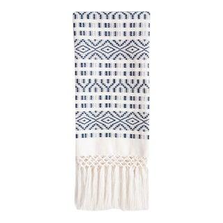 Navy Chiapas Hand Towel For Sale