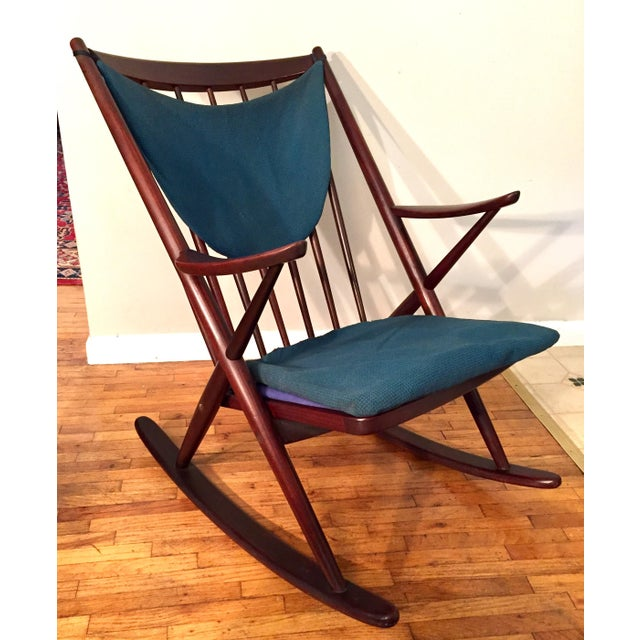 Bramin Mobler Frank Reenskaug Rocking Chair - Image 2 of 11