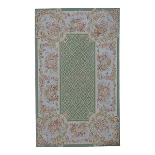 """Pasargad Aubusson Hand Woven Wool Rug - 8'10"""" X 11'11"""""""