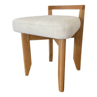 Guillerme Et Chambron Rubercrin Stool For Sale