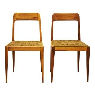 Austrian A 7 chairs by Carl Auböck for Auböck - A Pair For Sale