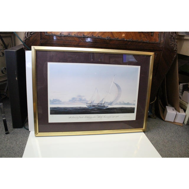 John Mecray Concordia Yawls Print For Sale In New York - Image 6 of 9