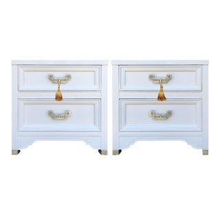 1960s Henry Link Mandarin Collection Chinoiserie Nightstands - a Pair For Sale