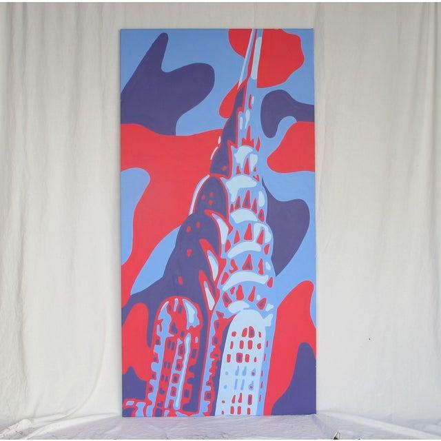 Monumental Acrylic of New York's Chrysler Building - Image 2 of 8