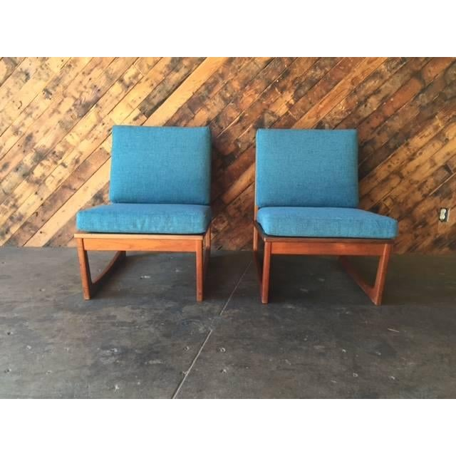 Mid Century Danish Lounge Chairs, Jacob Kjaer - 2 - Image 6 of 6