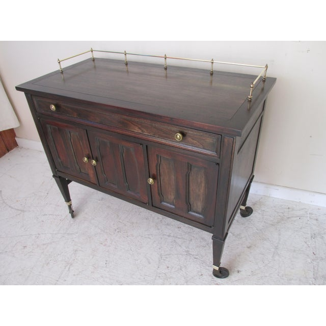 Drexel Mid-Century Serving Cart - Image 10 of 10