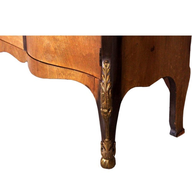 Louis XV Bronze Banded Armoire For Sale - Image 10 of 10