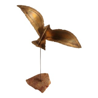 Michael Hewitt Bird in Flight Sculpture For Sale