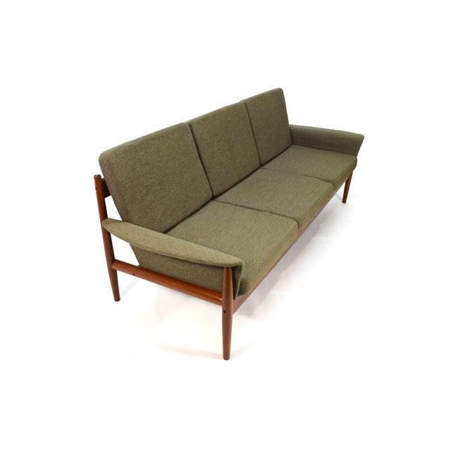 Grete Jalk Sculpted Teak Sofa - Image 3 of 6