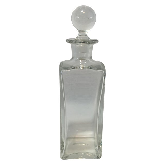 Square Glass Decanter - Image 1 of 4