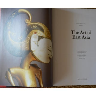 The Art of East Asia Hardcover Dust Jacket Book Koenemann Coffee Table Large Book Red Preview