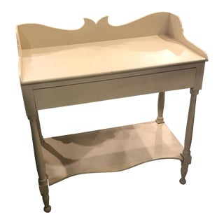 Antique Country Painted Side Table/Bar. For Sale